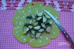 Летний легкий салат - фото шаг 1