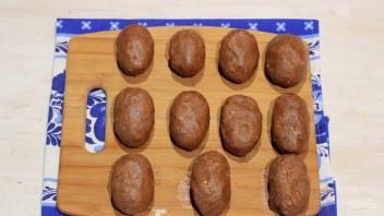 """Пирожное """"Картошка"""" с орехами - фото шаг 5"""