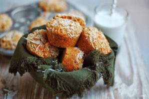 Морковные маффины с кокосом - фото шаг 4