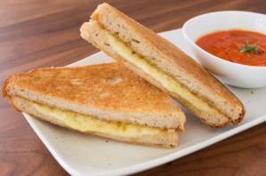 Сэндвич с сыром  - фото шаг 6