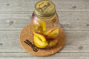 Компот из персиков с лимонной кислотой на зиму