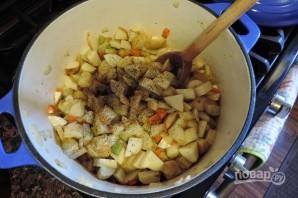 Картофельный суп на молоке - фото шаг 3