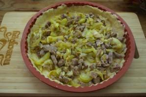 Пирог с курицей и цукини - фото шаг 5