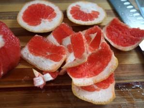 Салат из авокадо и грейпфрута - фото шаг 2