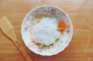 Китайский салат с крахмальной лапшой - фото шаг 6