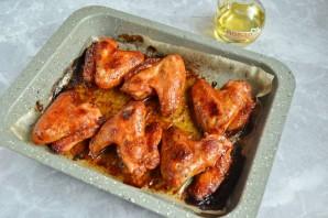 Куриные крылышки барбекю в духовке - фото шаг 6
