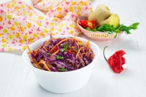Азиатский салат с имбирем и чили - фото шаг 4
