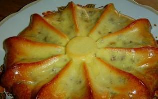 Наливной пирог с мясом - фото шаг 8
