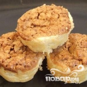 Двухслойное печенье с орехами - фото шаг 6