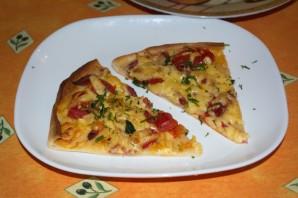 Пицца на дрожжевом тесте в духовке - фото шаг 6