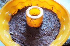 Шоколадно-творожный кекс - фото шаг 3