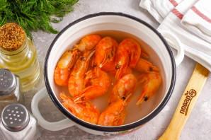 Суп из кабачков с креветками - фото шаг 2