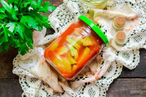Кабачки с томатной пастой на зиму - фото шаг 8