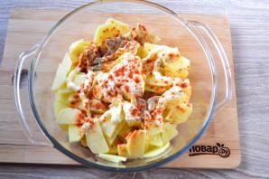 Куриные шейки с картошкой - фото шаг 7