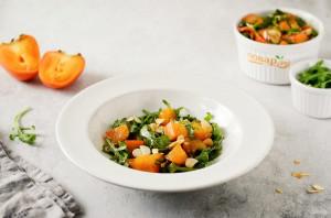 Салат с хурмой - фото шаг 7