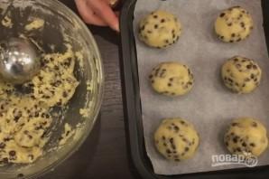 Домашнее печенье с шоколадной крошкой - фото шаг 6