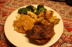 Утка с картошкой в духовке - фото шаг 3