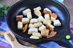 Грибной суп с сухариками - фото шаг 8