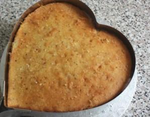 """Торт """"Клубничное сердце"""" - фото шаг 5"""