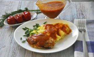 Красный мясной соус - фото шаг 12