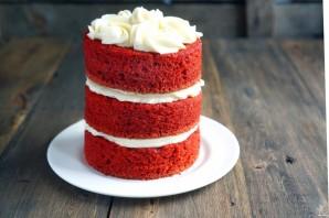 Торт на день рождения женщине - фото шаг 4