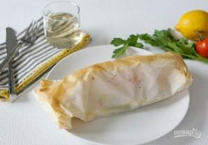 Рыба с овощами в пергаменте - фото шаг 6