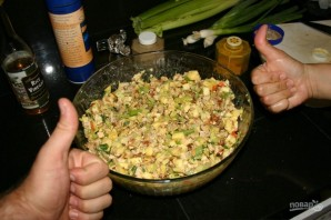Салат из куриных грудок - фото шаг 10