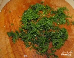 Салат из пекинской капусты с кальмарами - фото шаг 6