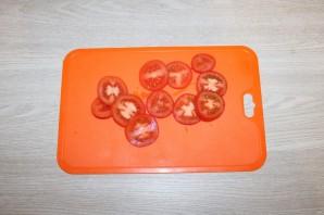 Горбуша с помидорами и сыром в духовке - фото шаг 4