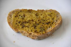 Бутерброды с зеленым салатом - фото шаг 4