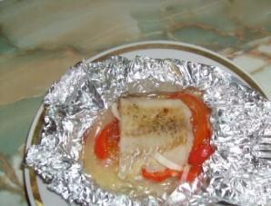 Пангасиус в фольге с овощами - фото шаг 5