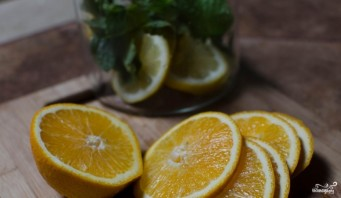 Лимонная вода для похудения - фото шаг 2