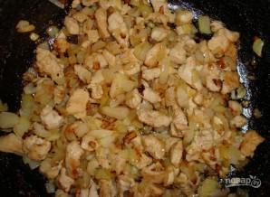 Лаваш с курицей и овощами - фото шаг 1