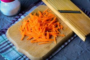 Салат из моркови и яблока со сметаной - фото шаг 3