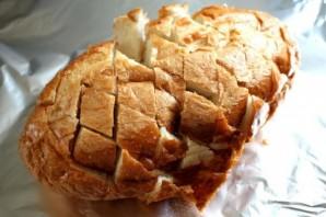 Сырный хлеб с зеленью - фото шаг 2