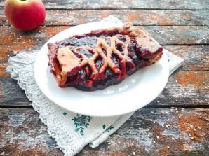 Пирог с творогом и повидлом - фото шаг 10