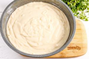 Пирог с айвой на кефире - фото шаг 7