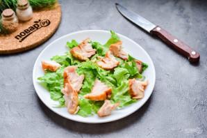 Салат с копченой курицей и грушей - фото шаг 4