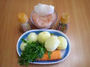 Простой суп с фрикадельками - фото шаг 1