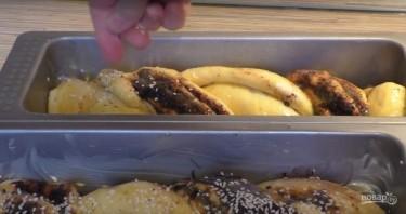 Сдобный хлебец с шоколадно-маковой начинкой - фото шаг 7