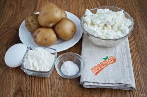 Картофельные сырники - фото шаг 1