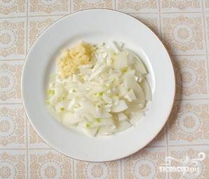 Салат с маринованным корнем сельдерея - фото шаг 3