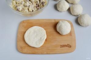 Сырные булочки с мясной начинкой - фото шаг 8
