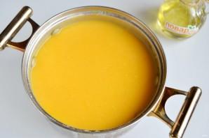 Тыквенный суп с моцареллой - фото шаг 7
