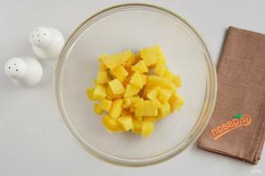 Салат из скумбрии - фото шаг 2
