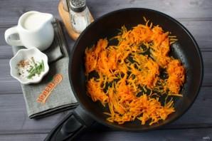 Ракушки, запеченные с тыквой и сыром - фото шаг 5