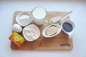 Пирог с маком из дрожжевого теста - фото шаг 1