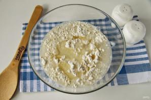 Пирог с картошкой и луком в духовке - фото шаг 3