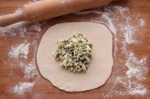 Хачапури с творогом на сковороде - фото шаг 8