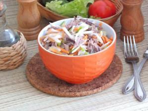 Мясной салат с дайконом - фото шаг 8